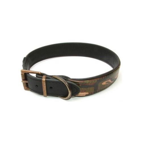 Collar de piel modelo Combat para perros color Varios