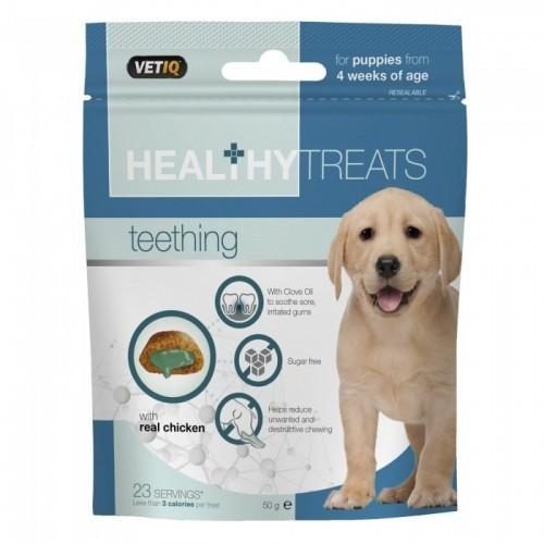 Snacks Healthy Treats apoyo bucal para cachorros sabor Pollo