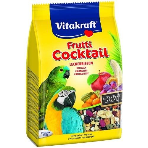 Cóctel afrutado para pájaros sabor Natural