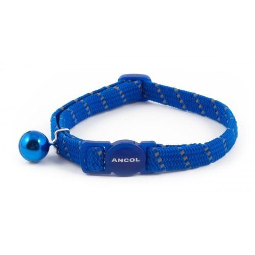 Collar reflectante para gatos color Azul
