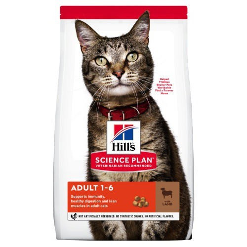 Hill's Feline Adult Cordero