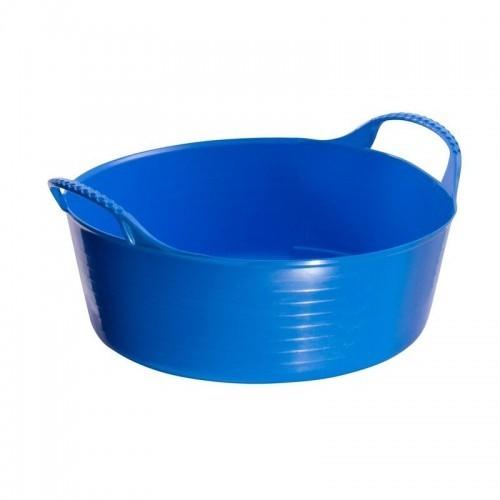 Cubo mini Tubtrug flexible y con poca profundidad color Azul