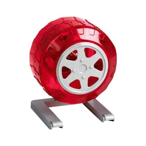 Rueda de ejercicio Wheel N Around para hámster color Rojo