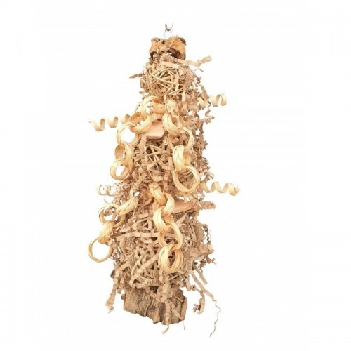 Juguete Natura Shredding tree large para loros