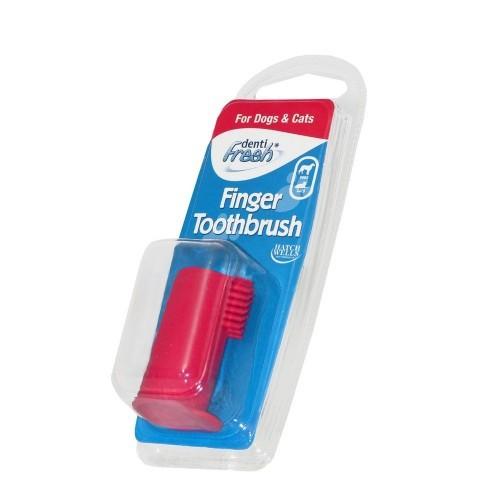 Cepillo de dientes de dedo para perros y gatos