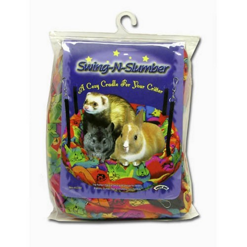 Cama colgante tejido polar Swing-N-Slumber para mascotas