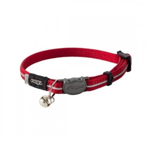Collar para gatos modelo Alleycat color Rojo