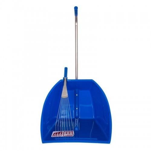 Rastrillo con recogedor grande modelo Tubtrug color Azul
