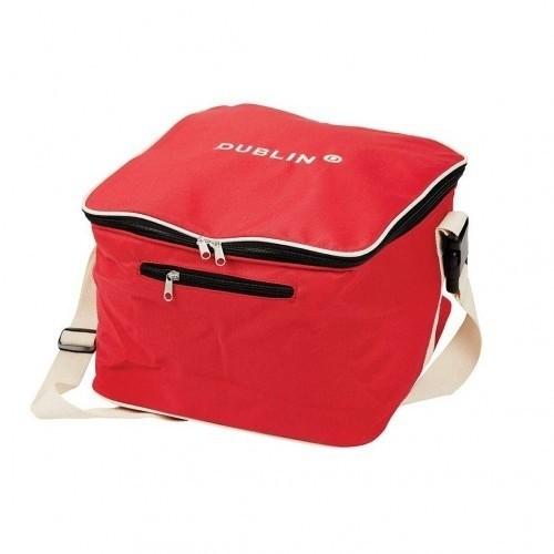 Bolsa modelo Imperial para casco de equitación color Rojo/Crema