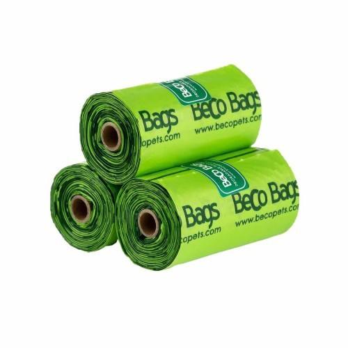 Bolsitas de plásticos para excrementos olor Menta