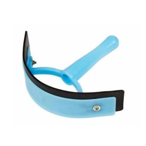 Raspador de sudor para caballos color Azul