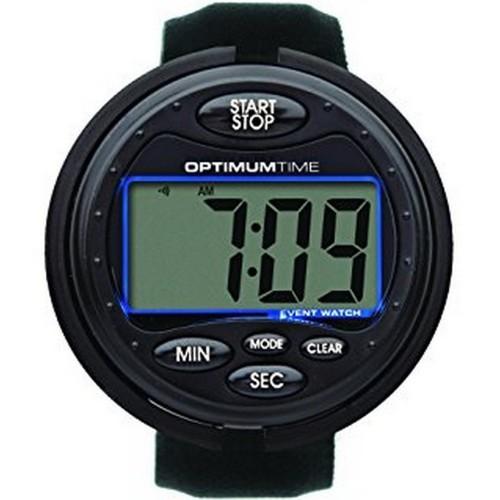 Reloj/Cronómetro para eventos color Negro