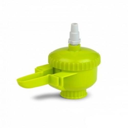 Bebedero para pájaros mini automático color Verde pistacho
