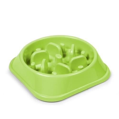 Comedero anti-estrés redondo color Verde