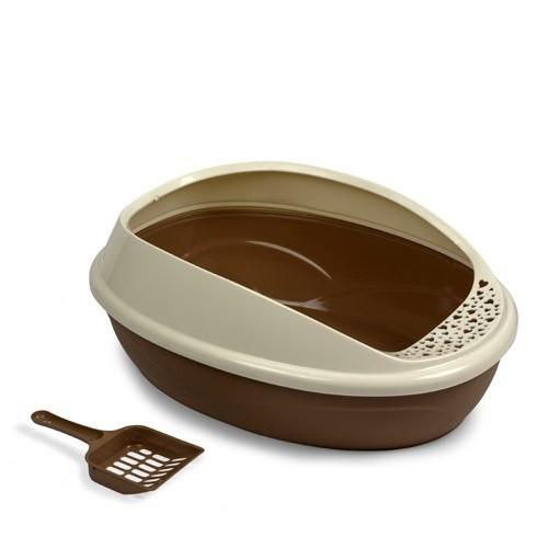 Bnadeja higiénica Gaun para gatos color Marrón
