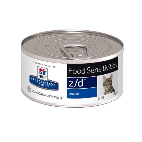 Hills Feline z/d Ultra Low Allergen Lata de 156 gr
