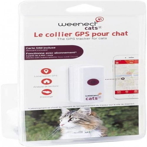 Localizador Weenect GPS Cats² para gatos