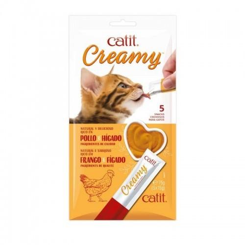 Barritas Catit Creamy pollo para gatos