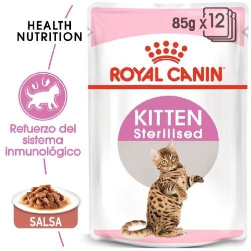 Royal Canin Kitten Sterilised en salsa