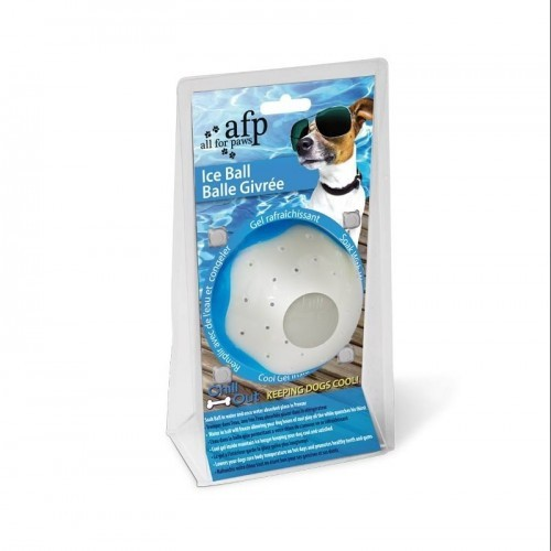 Pelota jueguete congelable Afp Chill Out color Azul
