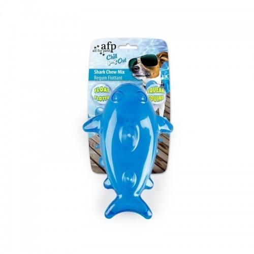 Tiburón Chew Mix Afp Chill Out para perros color Azul