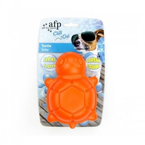 Tortuga Splash Afp Chill Out para perros color Naranja