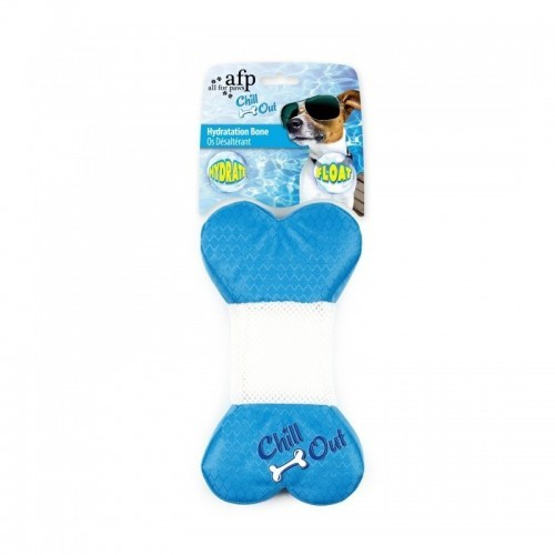 Hueso juguete congelable Afp Chill Out color Azul