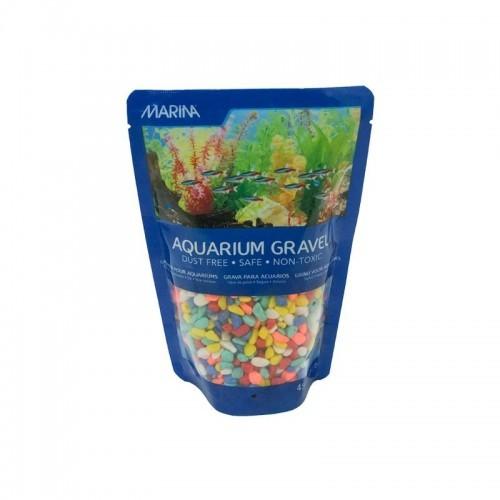 Grava Marina para acuarios color Arcoiris