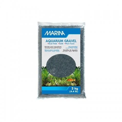 Grava Marina para acuarios color Negro