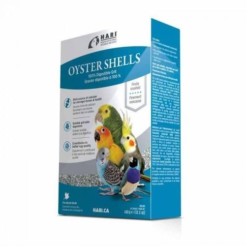 Conchas Hari Oyster Shells para aves sabor Natural