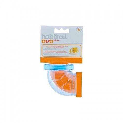 Ovo Codo Habitrail para hámsters color Naranja