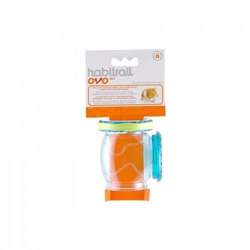 Conexión Tee Habitrail Ovo para hámster color Naranja