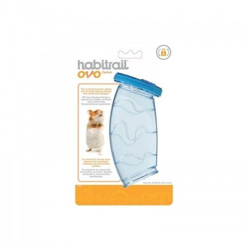 Ovo curva Habitrail para hámsters color Azul