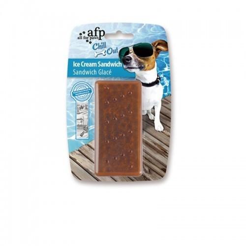 Helado sandwich Afp Chill Out para perros color Marrón