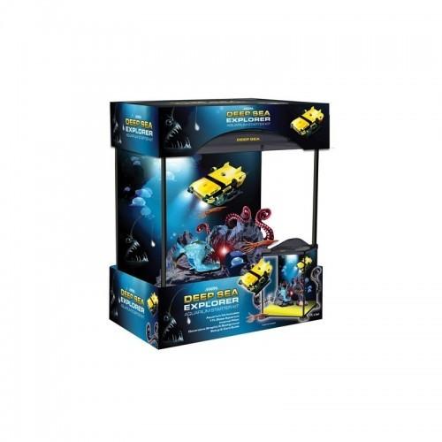 Kit acuario Marina Explorer 17 color Negro