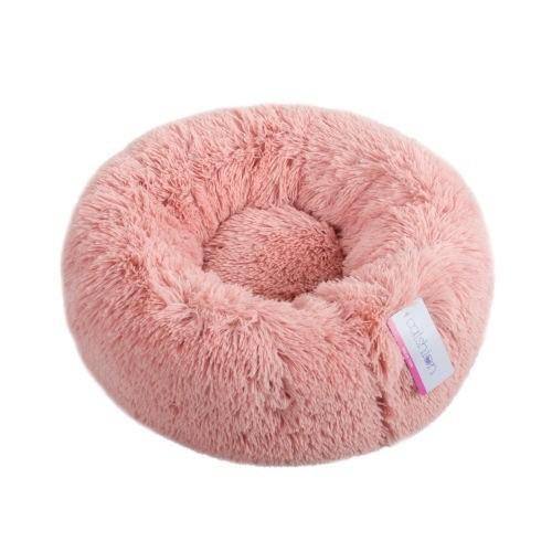 Cama donut para gatos Fluffy Catshion rosa