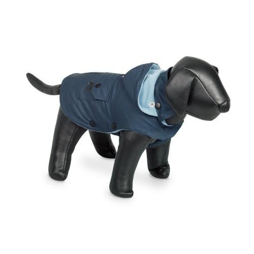 Abrigo Nobby Mellow con capucha para perros color Azul