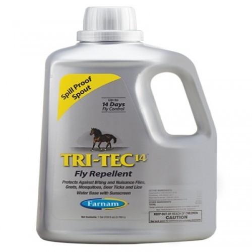 Repelente insecticida Tritec 14 para caballos