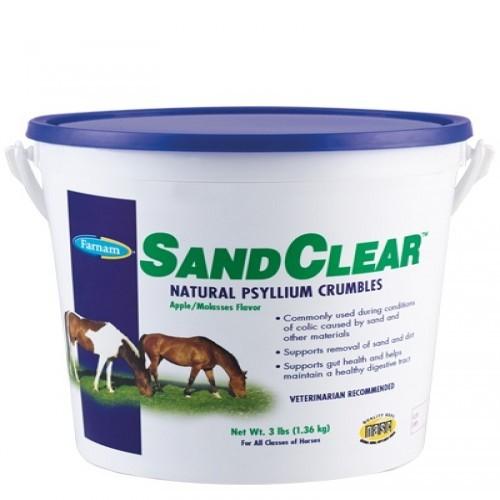 Anti cólico y estreñimiento Sandclear para caballos