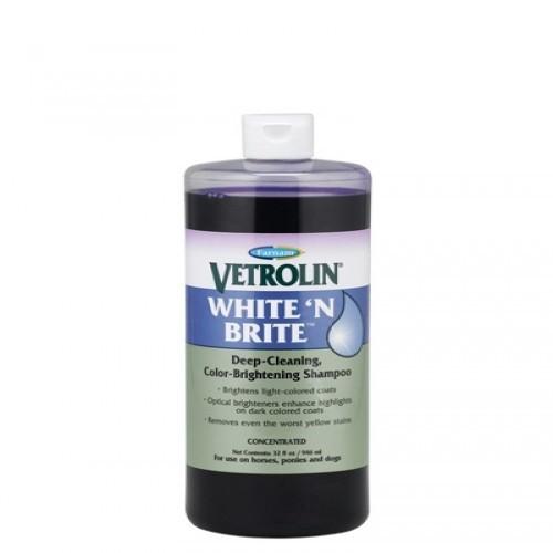 Champú Vetrolin White 'N Brite para caballos olor Neutro