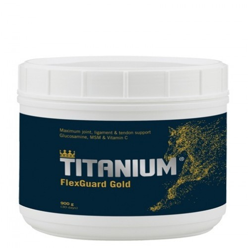 Protector articular Titanium FlexGuard Gold para caballos