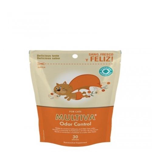 Suplemento Multiva Odor Control para gatos