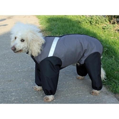 Abrigo Cosipet Extreme para perros color Gris