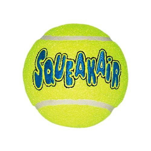 KONG Air Dog Squeakair pelota de tenis para perros