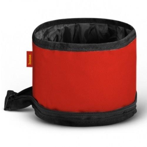 Cuenco plegable Husse color Rojo