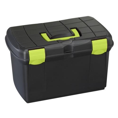 Caja mediana ProTack para accesorios color Negro/Pistacho