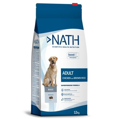 Pienso Nath Adult Maxi Pollo para perros