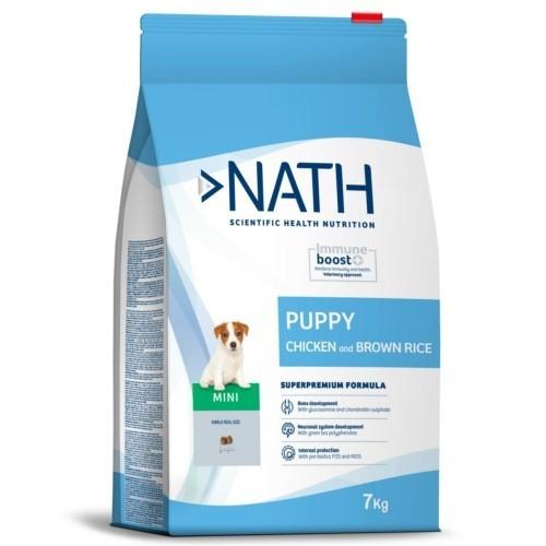 Pienso Nath Puppy Mini Pollo para cachorros