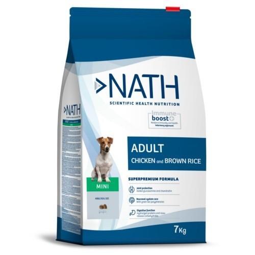 Pienso Nath Adult Mini Pollo para perros