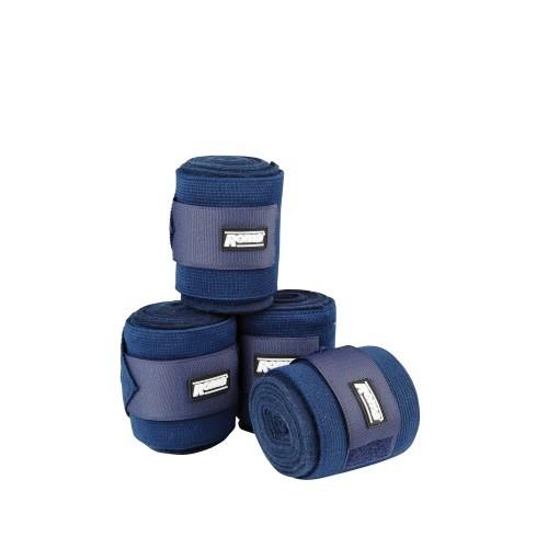Vendajes elásticos Roma Combi para caballos color Azul Marino
